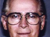 Photo of James J. Bulger, who is an FBI Ten Most Wanted Fugitive.