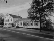 New Library of Miss Porter's School, Farmington, Connecticut.