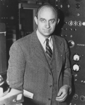 Enrico Fermi, Italian-American physicist, received the 1938 Nobel Prize in physics for identifying new elements and discovering nuclear reactions by his method of nuclear irradiation and bombardment. He was born in Rome, Italy, on September 29, 1901, and
