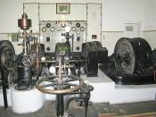 Siemens AG 170 kW hydropower generator built and installed in 1912 in Tsarska Bistrica Palace, Bulgaria