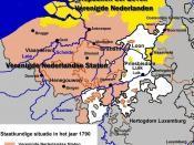 Nederlands: Verenigde Nederlandse Staten in 1790