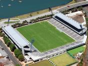 Bluetongue Central Coast Stadium in Gosford, New South Wales, is the current home of the Central Coast Mariners.