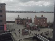 Albert Dock, Liverpool - Mermaid House and Piermaster's House