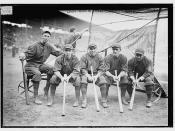 [Hank Gowdy, Dick Rudolph, Lefty Tyler, Joey Connolly, Oscar Dugey (baseball)]  (LOC)