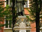 Nicolaus Copernicus Monument at Jagiellonian University