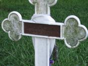 The grave of Thomas Merton.