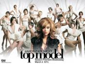 Promotional photograph of the cast of Cycle 12 of Tyra Banks' The CW reality show America's Next Top Model.