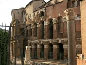 English: Theater of Marcellus, Rome. Detail NW.