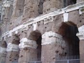 Theatre of Marcellus detail