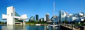 English: North Coast Harbor in Cleveland, Ohio