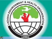 English: Logo of my social work organization