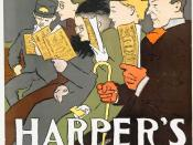English: Cover of Harper's Monthly magazine in February of 1895.