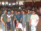 English: Picture of students in Sports day 2010