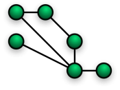 Partially connected mesh topology