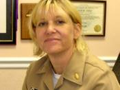 LT Susan B. Otto, Department of the Navy 2006 Social Worker of the Year
