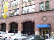 English: A building of the School of Visual Arts at 214 East 21st Street in Manhattan, New York City.