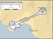 The Walls protectection Athens during the Peloponnesian War