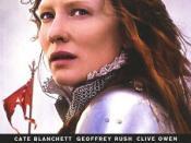 Film poster for Elizabeth: The Golden Age - Copyright 2007, Universal Studios