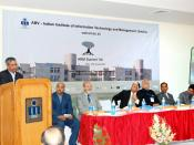 English: The First National Summit on Talent Acquisition and Talent Management: Trends in Knowledge Economy being organized by ABV-IIITM Gwalior