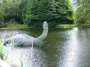 Nessie replica in Scotland. Česky: Lochneská nestvůra v Museum of Nessie