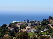 Houses adjacent to the Malibu campus.