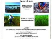 Soil Salinity Workshop Oct. 11, 2012