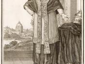 Neu-eröffnete Welt-Galleria. ..., Nürnberg 1703. 1. Clemens XI. Pontifex Maximus.