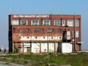 English: Sea Fish Industry Authority Building. The British Sea Fishing Industry has been destroyed, can the Authority building be far behind?