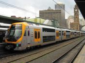 Millennium set M32 at Sydney Central.