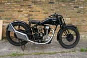 1929 OHC Triumph Prototype motorcycle