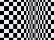 Movement in Squares, by Bridget Riley 1961