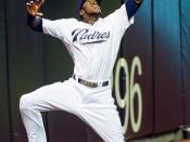 Cameron Maybin makes leaping catch near the wall