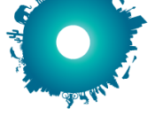 The Live Earth logo representing the