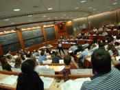 English: Inside a Harvard Business School classroom
