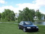 English: 1995.5 Audi S6 with Audi S6+ bumpers.