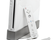 English: The Wii console by Nintendo. Featured with the Wiimote.