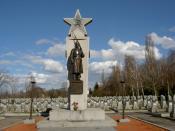 Česky: Olšanské hřbitovy, Rudá armáda