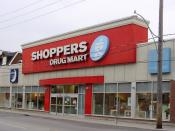 A Shoppers Drug Mart store on Dupont Street in Toronto, Canada.