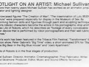 Spotlight On Artist - Michael Sullivan placard