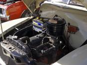 English: 1953-1956 Holden FJ engine.