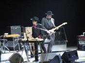 English: Bob Dylan at the Air Canada Centre, Toronto, Ontario, Canada