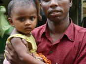 Father and child, Dhaka.