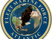 Fleet Marine Force, Atlantic.