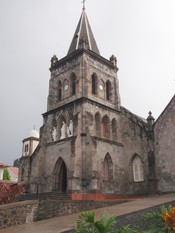 English: Roseau Cathedral, Dominica