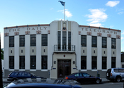The Daily Telegraph Building in October 2009.