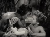 English: Johnny Weissmuller & Johnny Sheffield in Tarzan Finds a Son! - trailer (cropped screenshot)