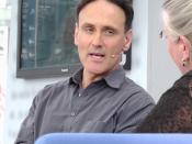 David Guterson auf dem Blauen Sofa der LBM 2012