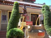 statue of Nguyen Trung Truc in Rach Gia, Vietnam
