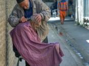 The old barber in Shiraz