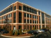 English: The offices of the American Institute of Certified Public Accountants (AICPA) at Palladian Office Park (220 Leigh Farm Road) in Durham, North Carolina.